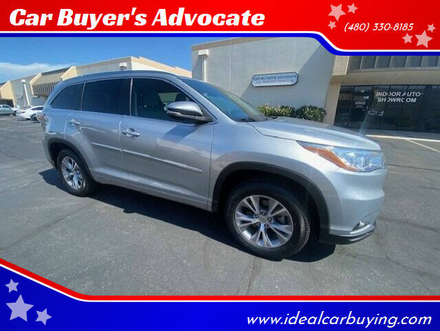2015 Toyota Highlander for sale at Car Buyer's Advocate in Phoenix AZ
