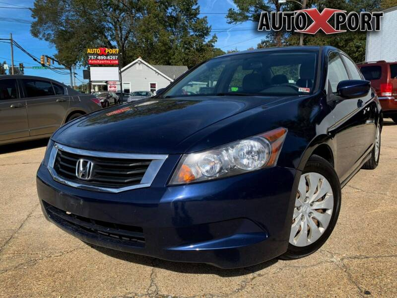 2008 Honda Accord for sale at Autoxport in Newport News VA