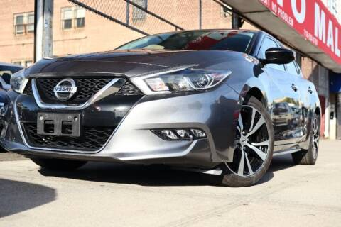 2018 Nissan Maxima for sale at HILLSIDE AUTO MALL INC in Jamaica NY