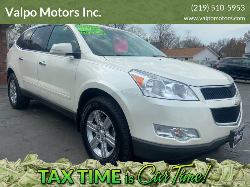 2012 Chevrolet Traverse for sale at Valpo Motors Inc. in Valparaiso IN