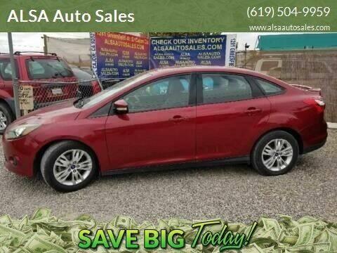2013 Ford Focus for sale at ALSA Auto Sales in El Cajon CA