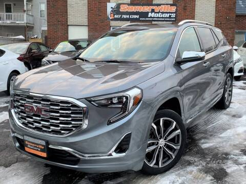 2018 GMC Terrain for sale at Somerville Motors in Somerville MA