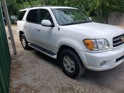 2002 Toyota Sequoia for sale at Northwoods Auto & Truck Sales in Machesney Park IL