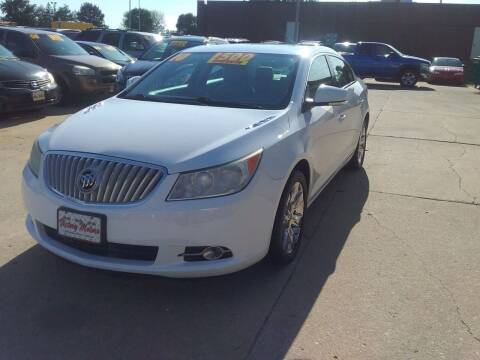 2010 Buick LaCrosse for sale at Victory Motors in Waterloo IA