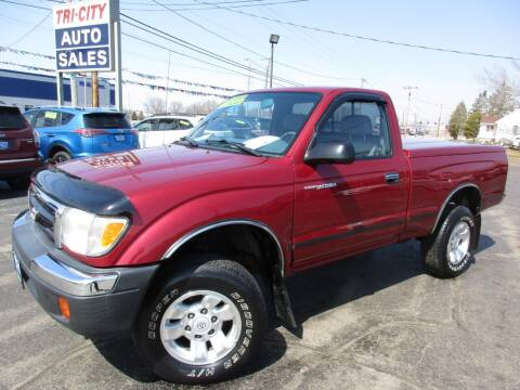 2000 Toyota Tacoma for sale at TRI CITY AUTO SALES LLC in Menasha WI