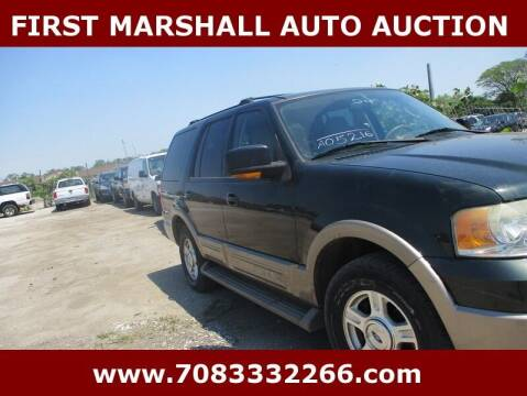 2004 Ford Expedition for sale at First Marshall Auto Auction in Harvey IL