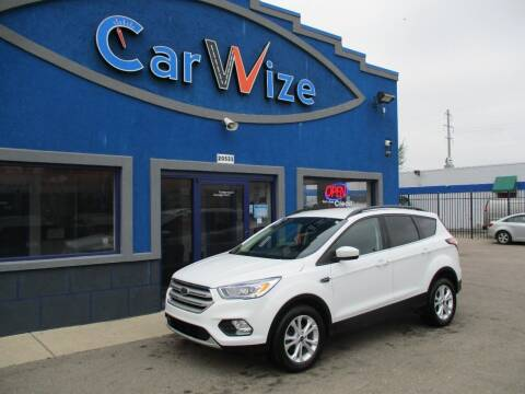 2018 Ford Escape for sale at Carwize in Detroit MI