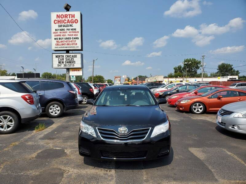 2010 Toyota Camry for sale at North Chicago Car Sales Inc in Waukegan IL