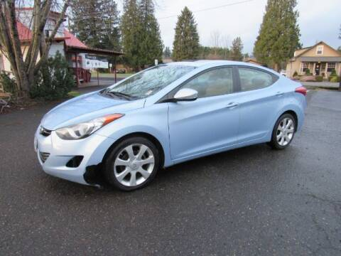 2012 Hyundai Elantra for sale at Triple C Auto Brokers in Washougal WA