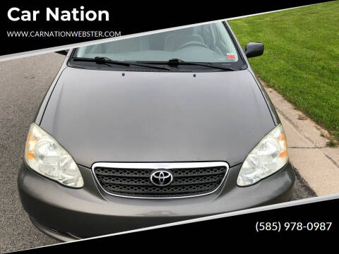 2007 Toyota Corolla for sale at Car Nation in Webster NY