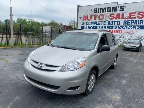 2007 Toyota Sienna for sale at Simon's Auto Sales in Detroit MI