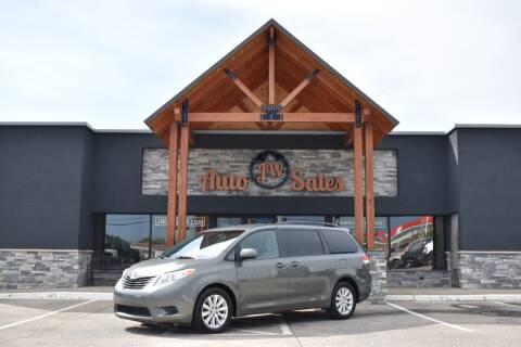 2013 Toyota Sienna for sale at JW Auto Sales LLC in Harrisonburg VA
