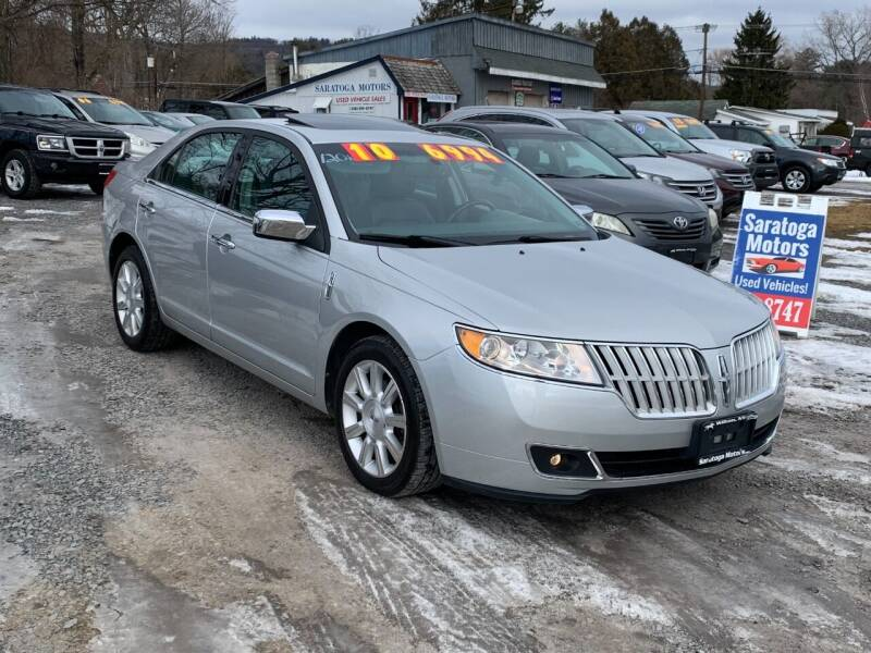 2010 Lincoln MKZ for sale at Saratoga Motors in Gansevoort NY