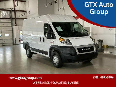 2019 RAM ProMaster Cargo for sale at GTX Auto Group in West Chester OH