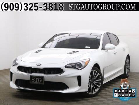 2019 Kia Stinger for sale at STG Auto Group in Montclair CA