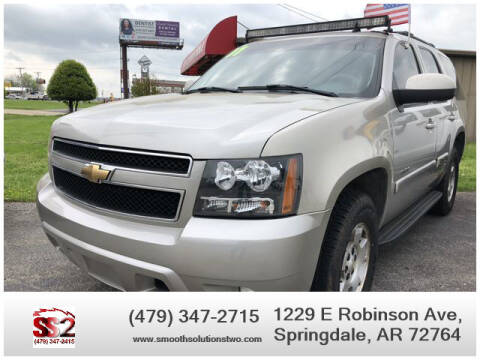 2007 Chevrolet Tahoe for sale at Smooth Solutions 2 LLC in Springdale AR