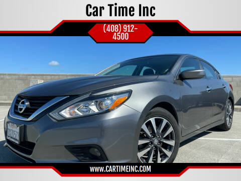 2017 Nissan Altima for sale at Car Time Inc in San Jose CA