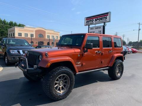 2014 Jeep Wrangler Unlimited for sale at Auto Sports in Hickory NC