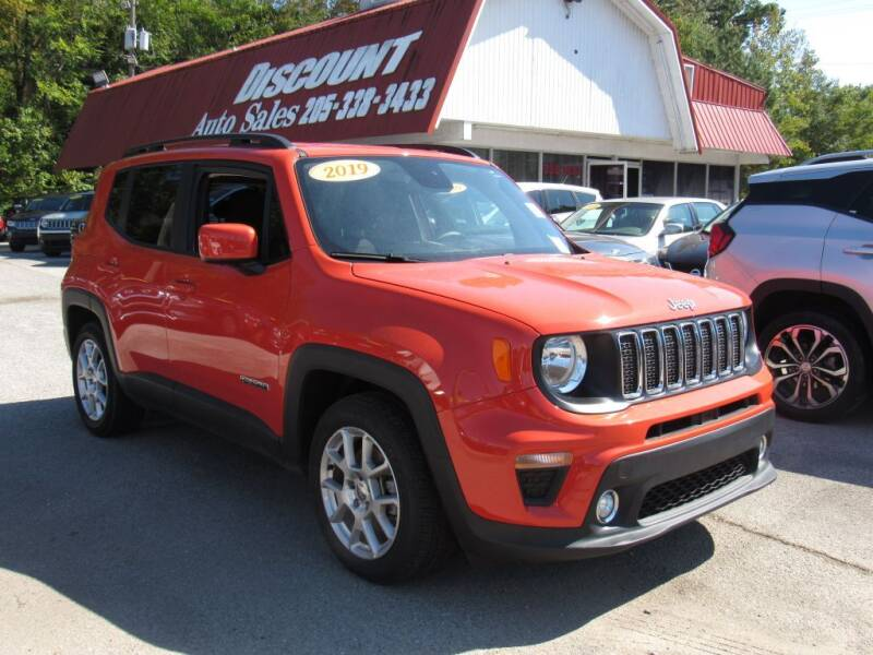 2019 Jeep Renegade for sale at Discount Auto Sales in Pell City AL