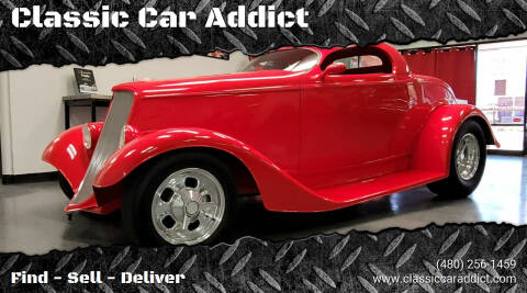 1933 Ford Roadster for sale at Classic Car Addict in Mesa AZ