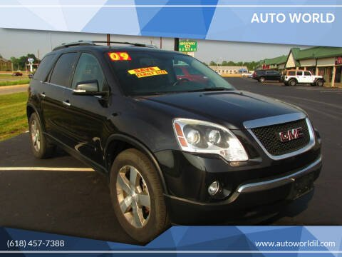 2009 GMC Acadia for sale at Auto World in Carbondale IL