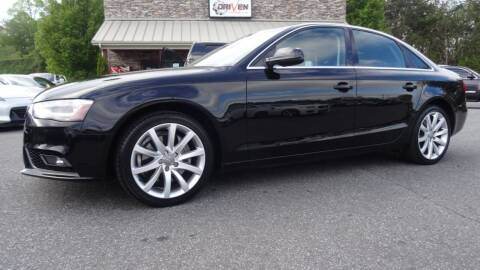 2013 Audi A4 for sale at Driven Pre-Owned in Lenoir NC