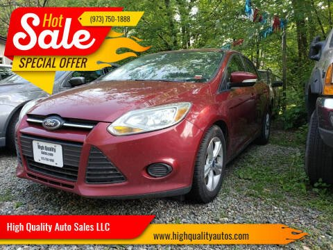 2014 Ford Focus for sale at High Quality Auto Sales LLC in Bloomingdale NJ