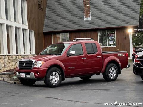 2012 Suzuki Equator for sale at Cupples Car Company in Belmont NH