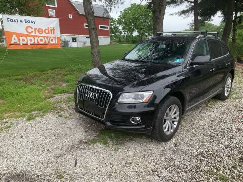 2015 Audi Q5 for sale at Caulfields Family Auto Sales in Bath PA