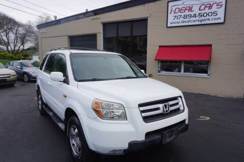 2008 Honda Pilot for sale at I-Deal Cars LLC in York PA