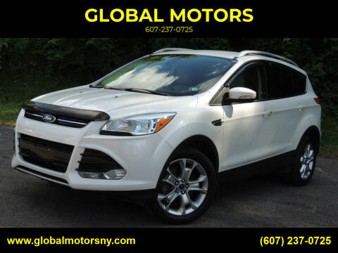 2015 Ford Escape for sale at GLOBAL MOTORS in Binghamton NY
