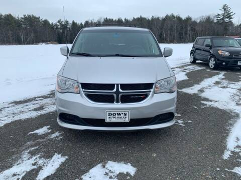 2012 Dodge Grand Caravan for sale at DOW'S AUTO SALES in Palmyra ME