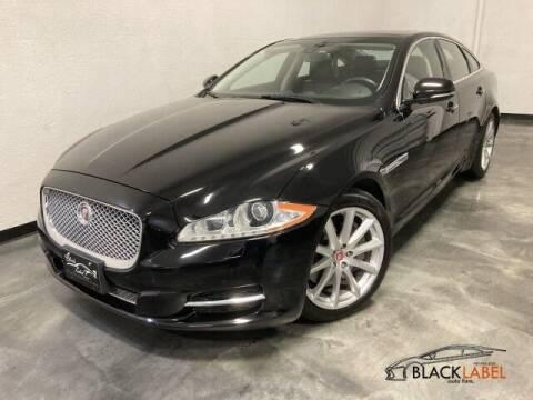 2014 Jaguar XJ for sale at BLACK LABEL AUTO FIRM in Riverside CA