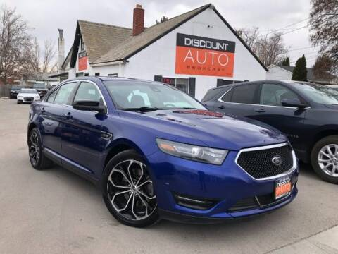 2013 Ford Taurus for sale at Discount Auto Brokers Inc. in Lehi UT