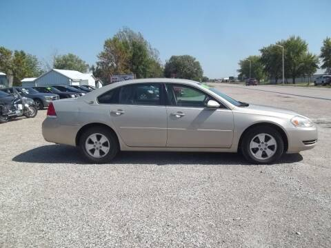 2008 Chevrolet Impala for sale at BRETT SPAULDING SALES in Onawa IA