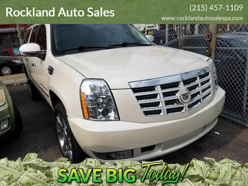 2011 Cadillac Escalade ESV for sale at Rockland Auto Sales in Philadelphia PA