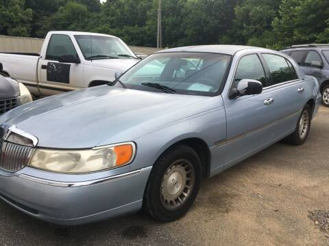 1998 Lincoln Town Car for sale at Auto Titan in Knoxville TN