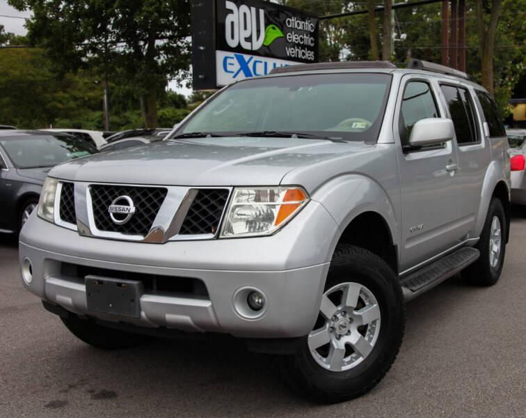 2006 Nissan Pathfinder for sale at EXCLUSIVE MOTORS in Virginia Beach VA