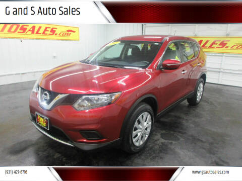 2015 Nissan Rogue for sale at G and S Auto Sales in Ardmore TN