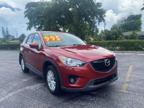 2013 Mazda CX-5 for sale at Lamberti Auto Collection in Plantation FL