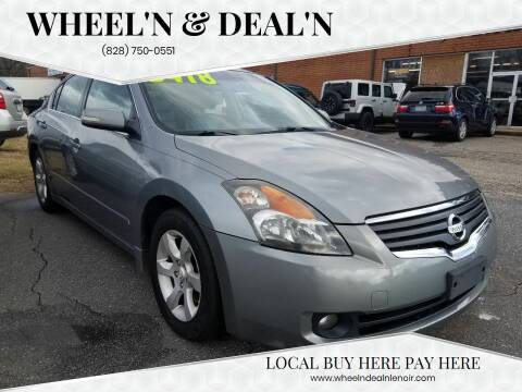 2007 Nissan Altima for sale at Wheel'n & Deal'n in Lenoir NC
