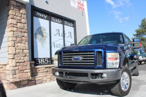 2008 Ford F-350 Super Duty for sale at A&A Auto Sales in Orem UT