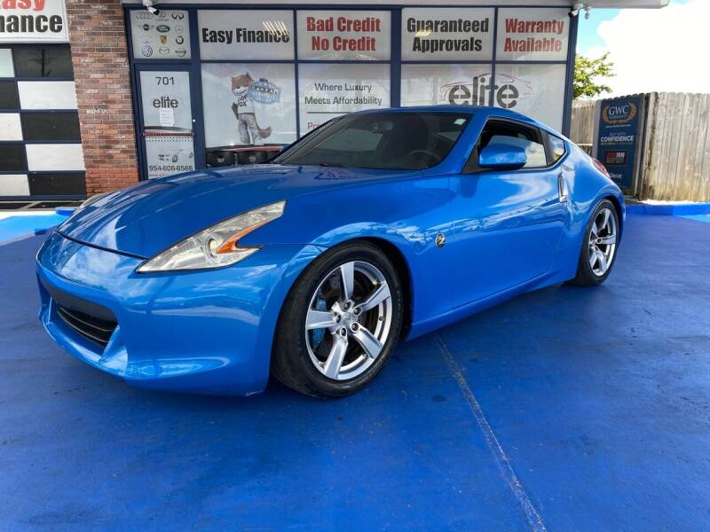 2009 Nissan 370Z for sale at ELITE AUTO WORLD in Fort Lauderdale FL