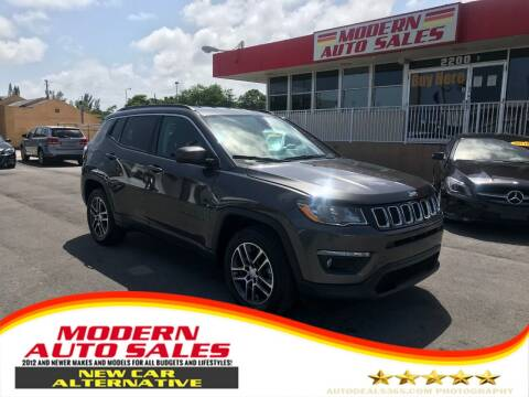 2017 Jeep Compass for sale at Modern Auto Sales in Hollywood FL