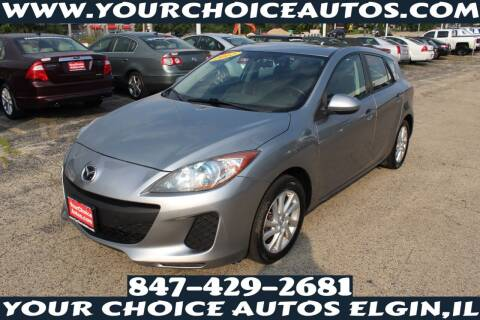 2012 Mazda MAZDA3 for sale at Your Choice Autos - Elgin in Elgin IL