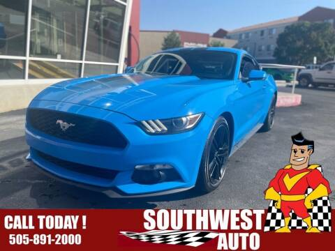 2017 Ford Mustang for sale at SOUTHWEST AUTO in Albuquerque NM