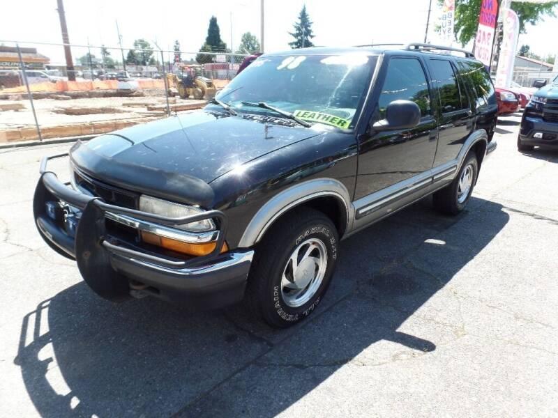 1998 Chevrolet Blazer for sale at Gold Key Motors in Centralia WA