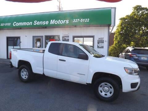 2016 Chevrolet Colorado for sale at Common Sense Motors in Spokane WA