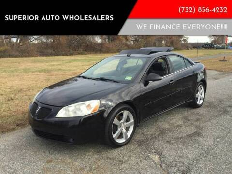 2006 Pontiac G6 for sale at Superior Auto Wholesalers in Burlington City NJ
