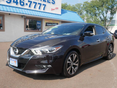 2017 Nissan Maxima for sale at B & D Auto Sales Inc. in Fairless Hills PA